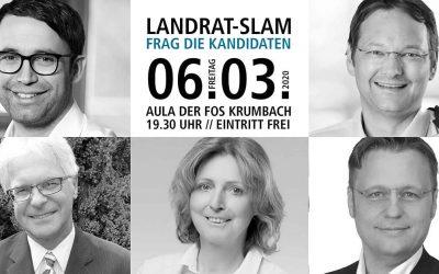 Landrat-Slam: Frag den Kandidaten