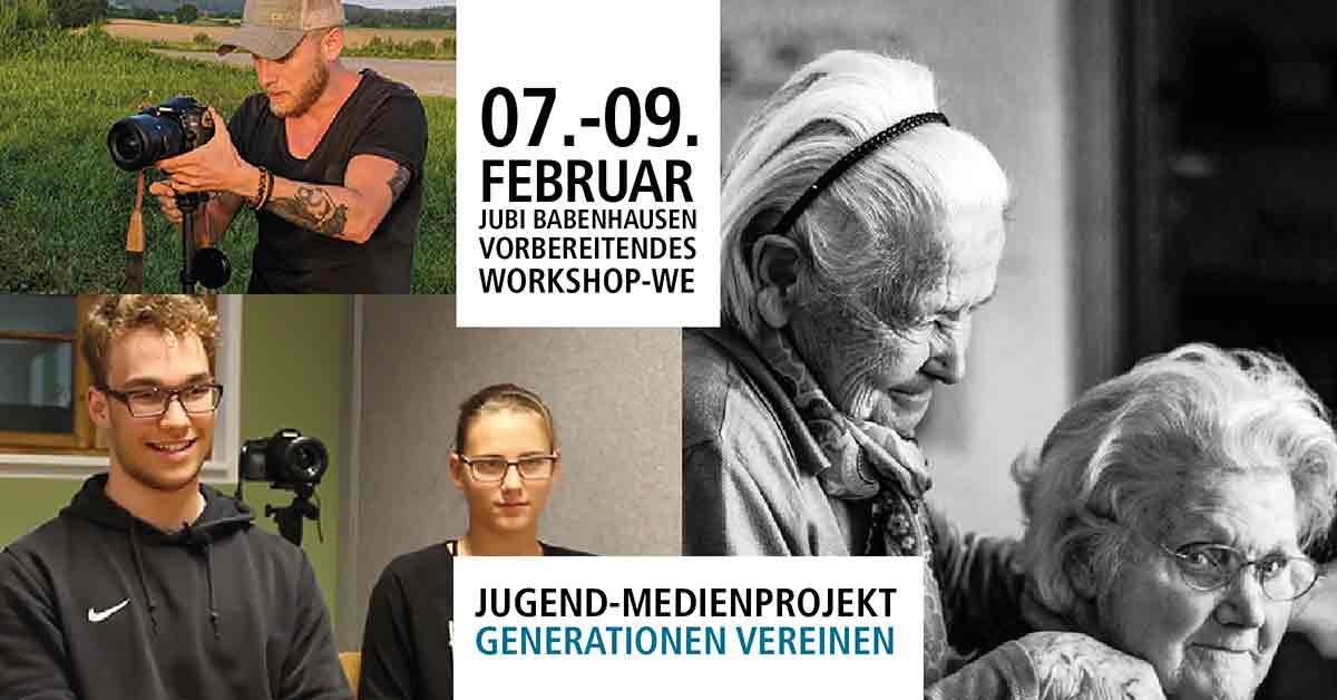 Generationen Vereinen - Jugendliche interviewen Senioren