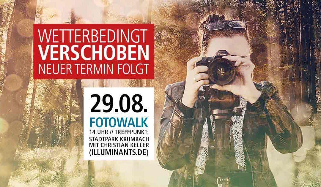 Fotowalk Lokal-Forum Krumbach mit Christian Keller von Illuminants.de - Termin verschoben