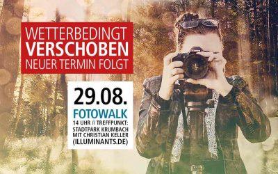 Fotowalk durch Krumbach – Termin verschoben!