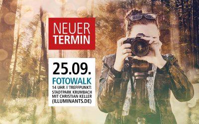 Fotowalk durch Krumbach – Neuer Termin: 25.09.