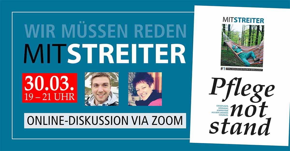 Harry Lenz Pflegenotstand Mistreiter Magazin Lokal-Forum